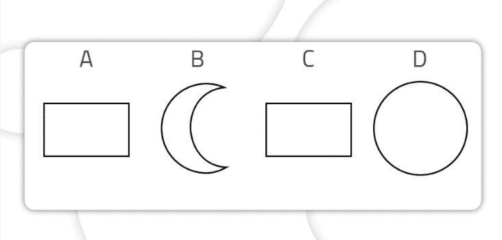 Encontrar as figuras iguais Nível básico