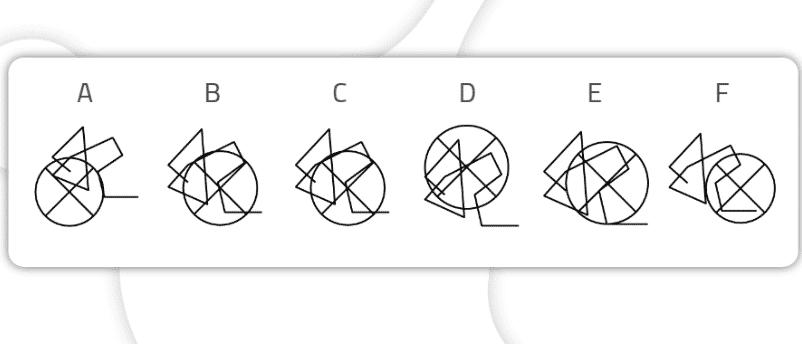 Encontrar as figuras iguais Nível avançado