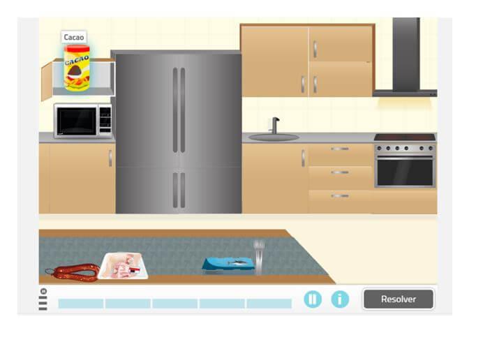 10. Organize a cozinha
