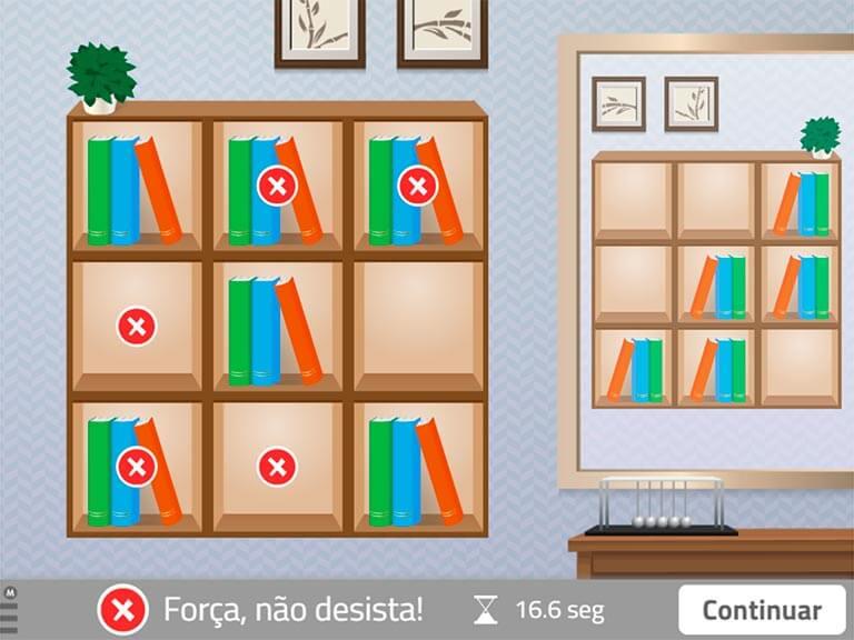 Organize a  estante